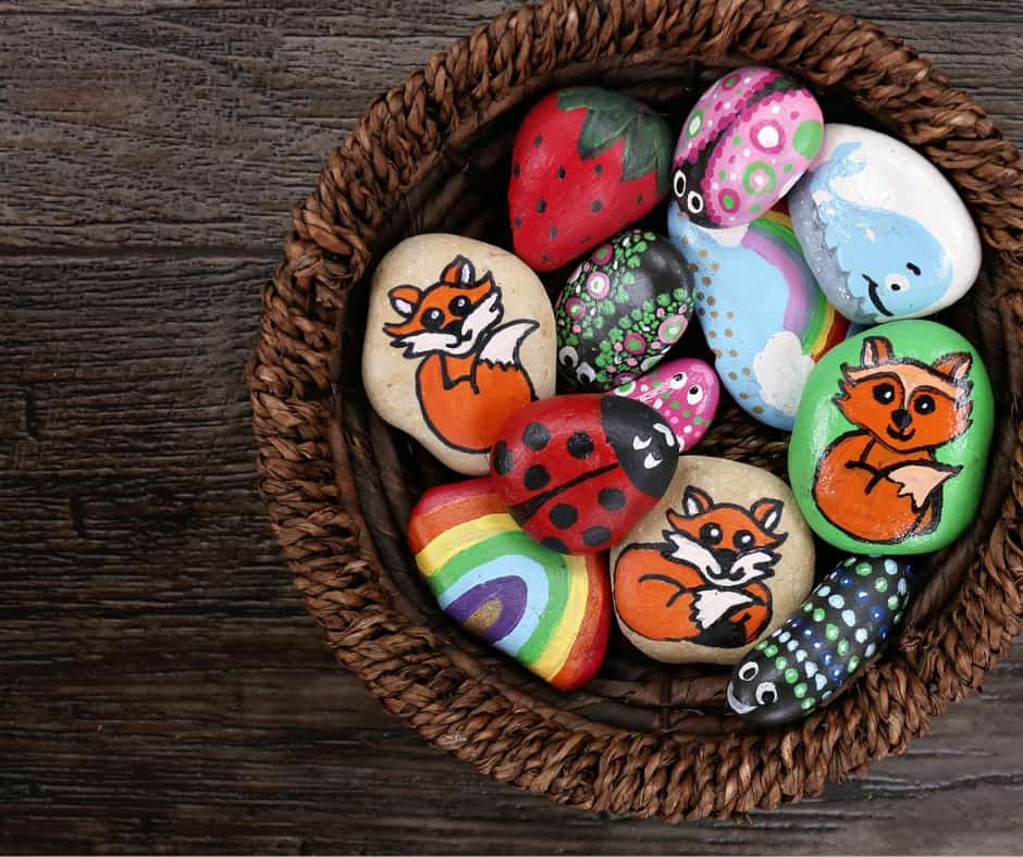 How To Paint Rocks With Kids 101 Your Ultimate Rock Painting Guide