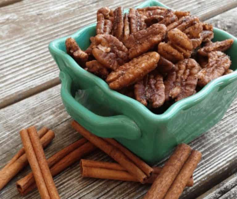 Candied Pecans: Low Carb, Sugar Free, & Delish!